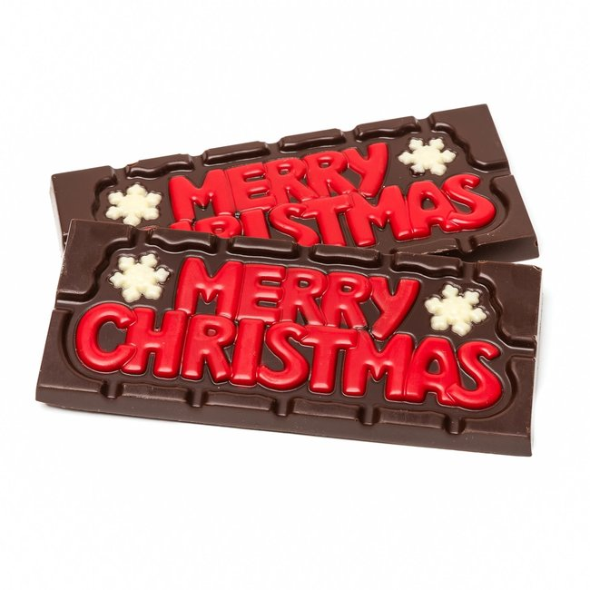 Chocomeli ''Merry Christmas'' (dark) 45 Grs