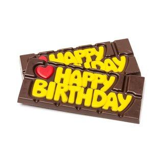 Chocomeli ''Happy Birthday'' (dark) 45 Grs