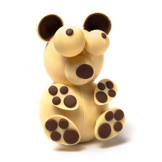 Chocomeli Bear 3D (white) 520 Grs