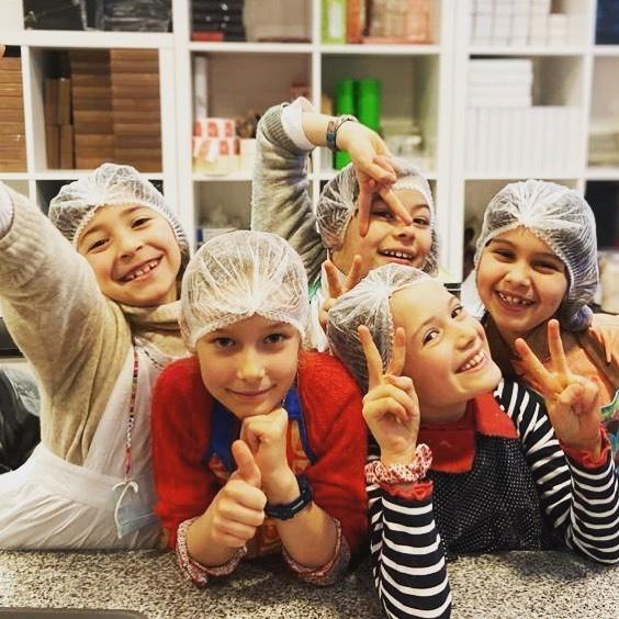 kids birthday chocolate workshop