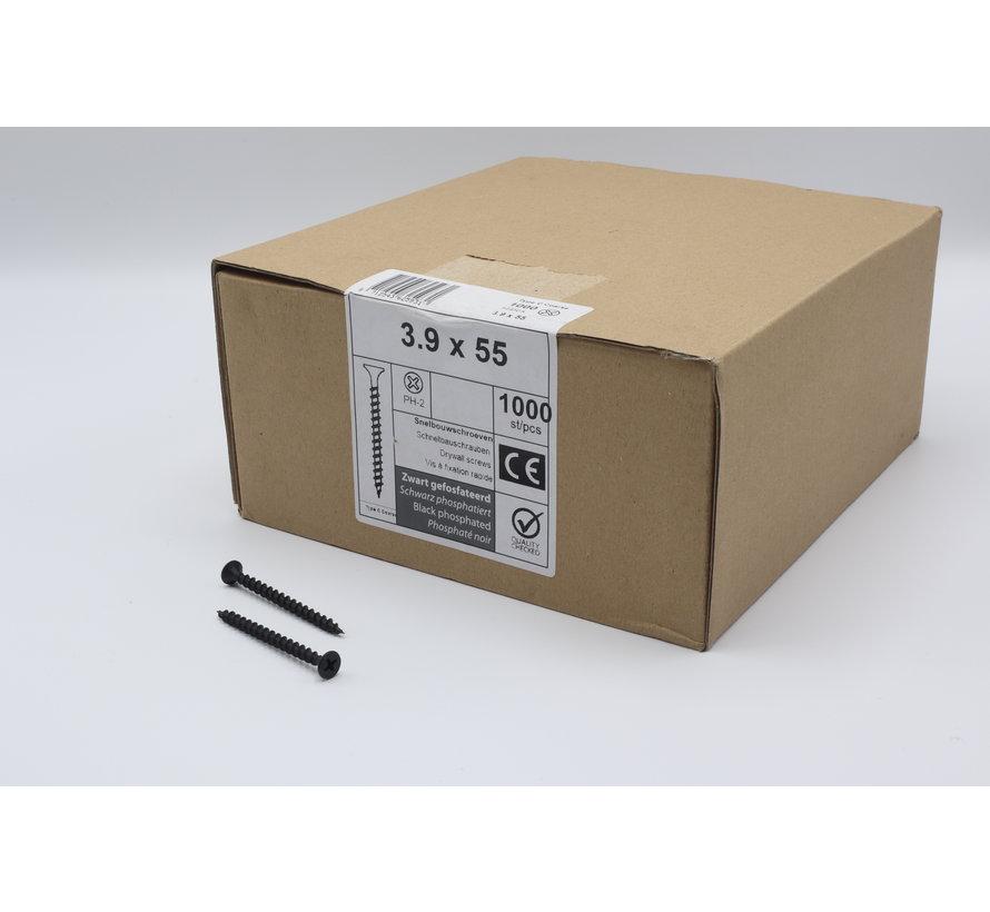 QZ fasteners snelbouwschroeven 3,9x55