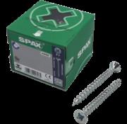 Spax Spax®  T-STAR spaanplaatschroef  RVS A2 platkop PZ1 3X35MM