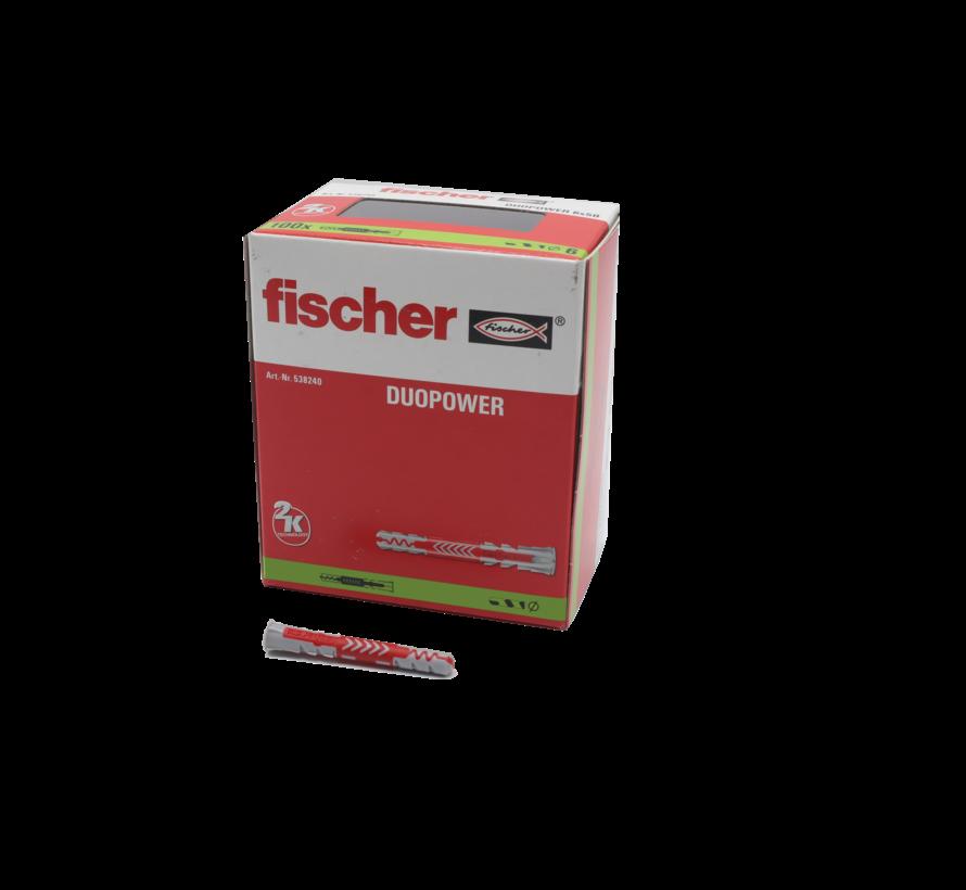 Fischer plug duo power 10x80