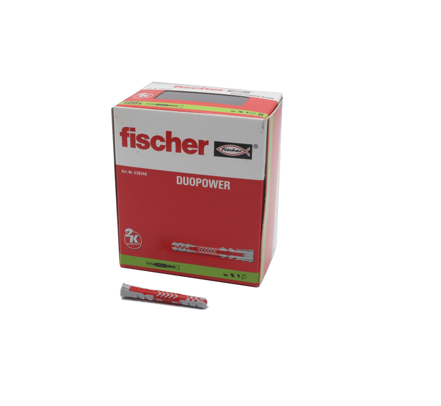 Fischer plug duo power 12x60