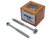 Heco HECO-FIX_PLUS® spaanplaatschroef RVS A2 platkop TX25 6X140MM