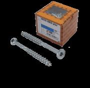 Heco HECO-FIX_PLUS®spaanplaatschroef RVS A2 platkop TX25 6X160MM