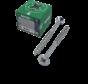 Spax®  T-STAR spaanplaatschroef  RVS A2 platkop PZ2 4,5X70MM