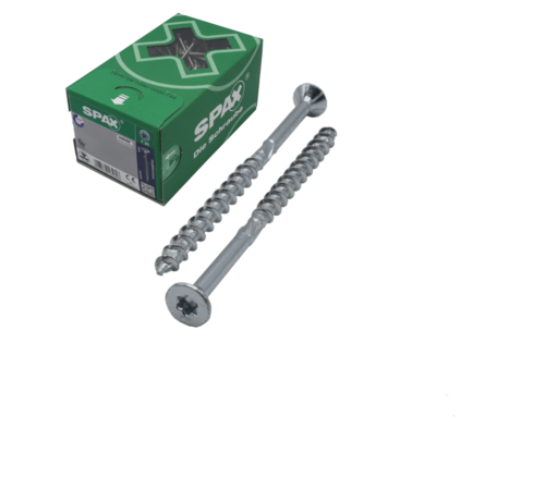 Spax Spax®  T-STAR spaanplaatschroef RVS A2 platkop torx T30 6x90 mm