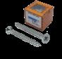 HECO-UNIX®Spaanplaatschroef verzinkt 3x25mm PK Pozidrive