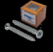 Heco HECO-UNIX®  Spaanplaatschroef verzinkt 4x30mm PK Pozidrive