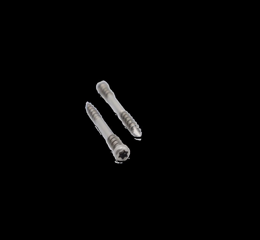 Spax®  T-STAR plus vlonderschroef RVS cilinderkop 5X70MM