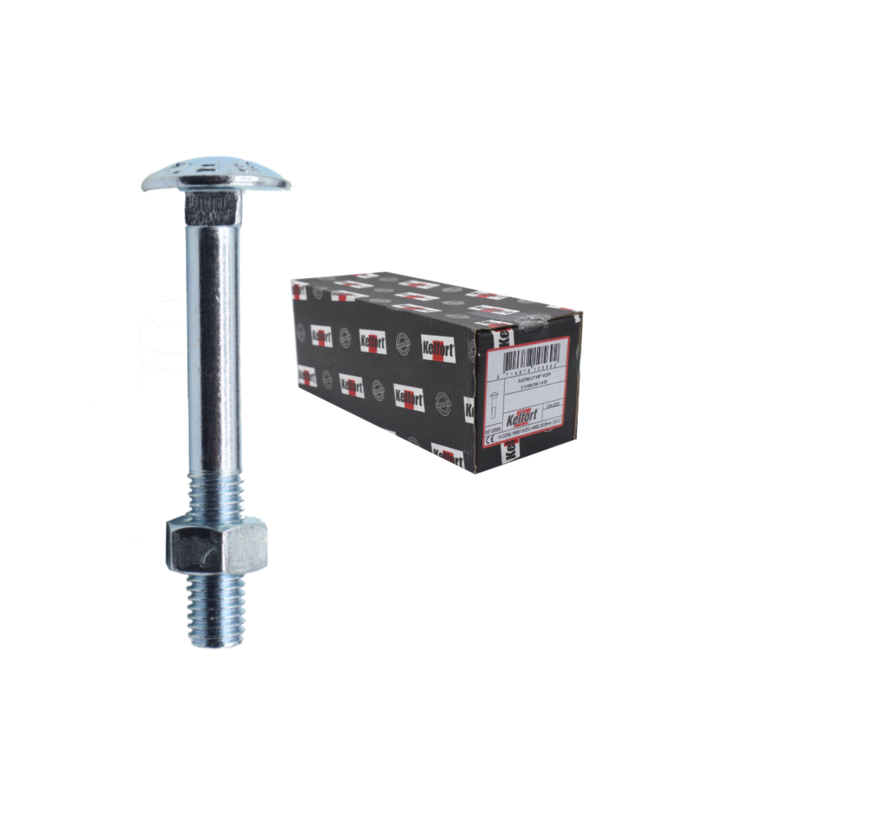 Kelfort™ slotbout 4.6 gegalvaniseerd M12x90MM