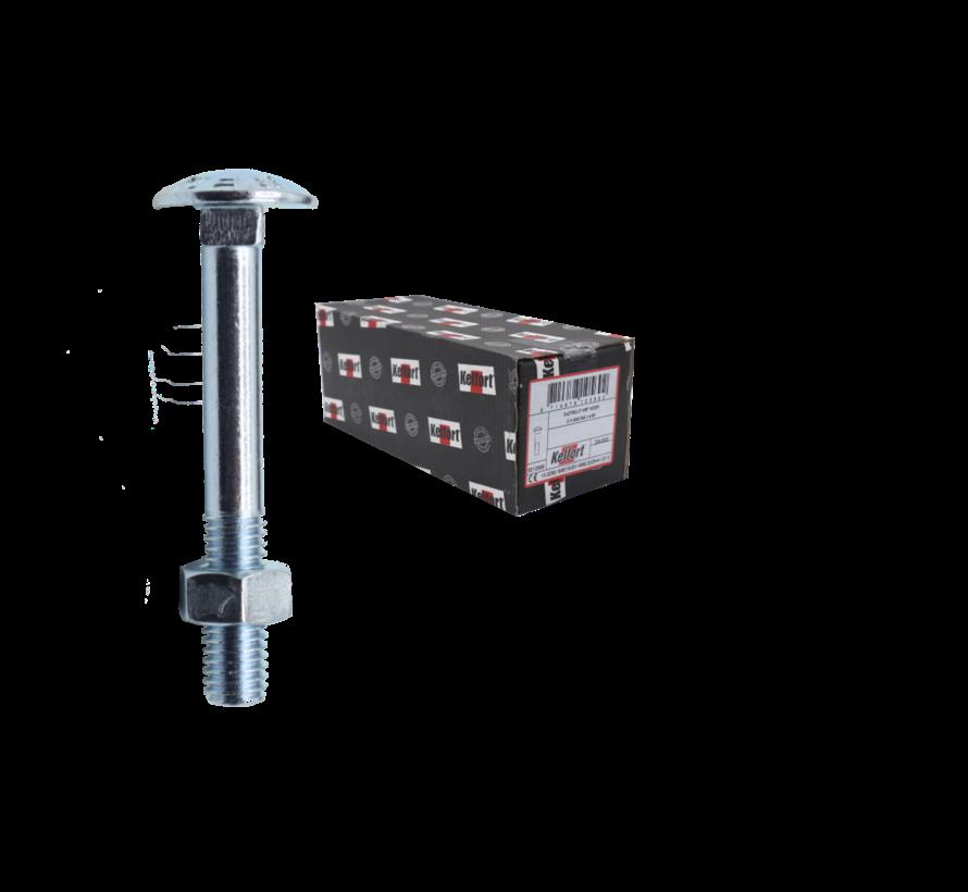 Kelfort™ slotbout  4.6 gegalvaniseerd M10x80MM