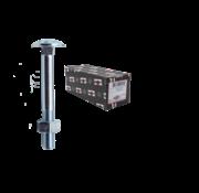 Kelfort  Kelfort™ slotbout 4.6 gegalvaniseerd M8x160MM