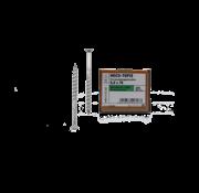 Heco HECO-TOPIX® vlonderschroef RVS A2 platkop TX25 5X80MM