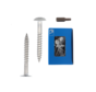 Trespa® schroef RVS Wit RAL9010 4,8x32mm