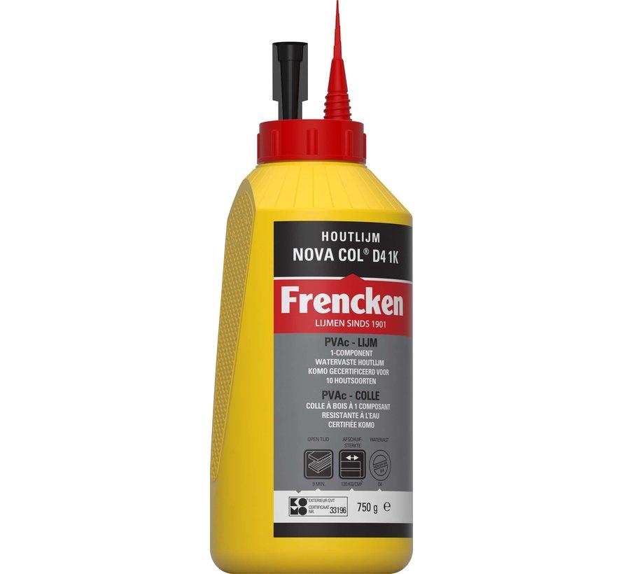 Houtlijm Frencken® houtlijm NOVA COL D4 1K