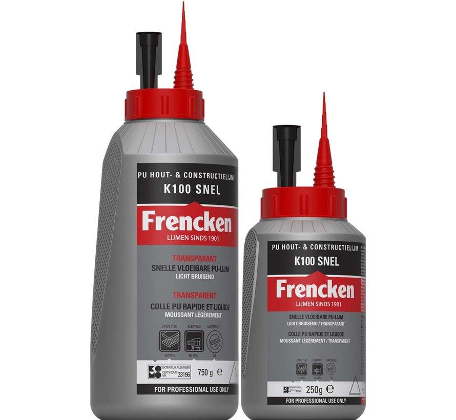 Houtlijm Frencken® houtlijm PU K100 snel f