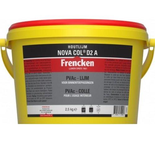 Frencken  Houtlijm Frencken® houtlijm NOVA COL D2 A  2,5KG fr