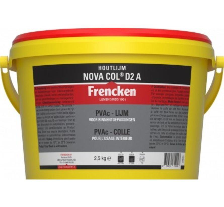 Houtlijm Frencken® houtlijm NOVA COL D2 A  2,5KG fr