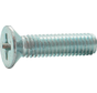 Metaalschroef RVS A2 Platkop 3x12mm