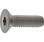 Kelfort™ Inbusbout RVS (A2) Platkop Ø M4x10mm