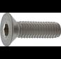 Kelfort™ Inbusbout RVS (A2) Platkop Ø M5x10mm