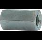 Kelfort™ Verbindingsmoer RVS (A2) zeskant  Ø 12mm x 36mm
