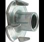 Kelfort™ Inslagmoer gegalvaniseerd Ø M4