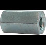 Kelfort  Kelfort™ Verbindingsmoer gegalvaniseerd zeskant  Ø 6mm x 20mm