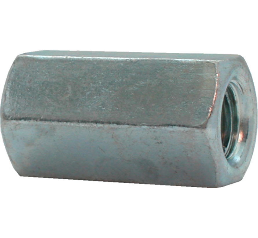 Kelfort™ Verbindingsmoer gegalvaniseerd zeskant  Ø 6mm x 20mm