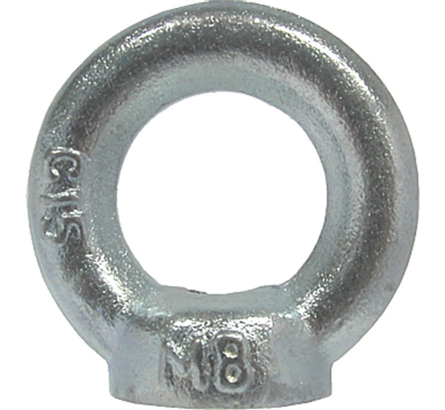 Kelfort™Oogmoer C15 gegalvaniseerd Ø M8