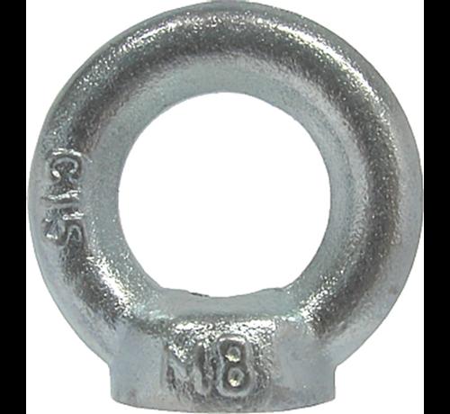 Kelfort Kelfort™Oogmoer C15 gegalvaniseerd Ø M10
