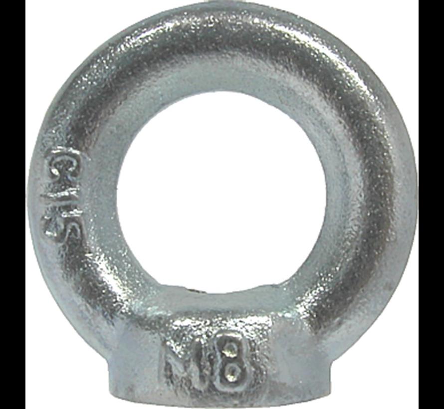 Kelfort™Oogmoer C15 gegalvaniseerd Ø M10