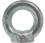 Kelfort™Oogmoer C15 gegalvaniseerd Ø M12