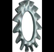 Kelfort Kelfort™ Tandveerring gegalvaniseerd Ø M10