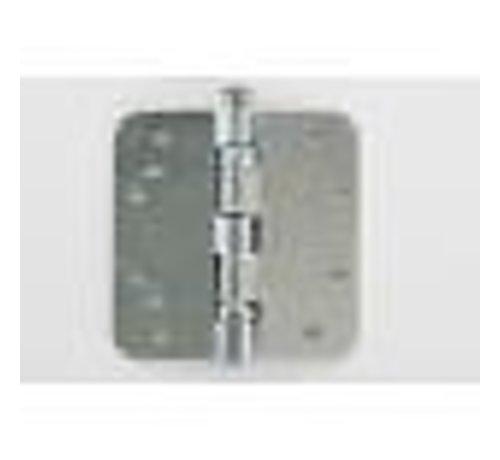 BSW Kogellagerscharnier gegalvaniseerd 89x89x2.5mm afgerond