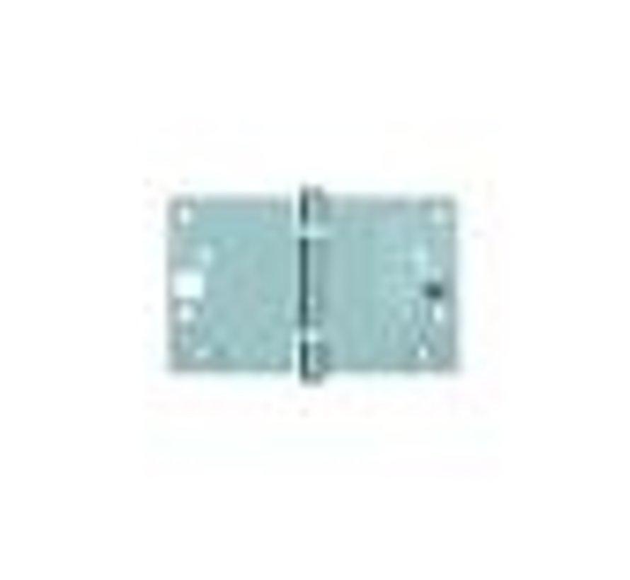 Venelite scharnier gegalv. 89x150x2.4mm rechthoekig SKG3