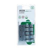 AXA Schijflagers schrnier gegalvaniseerd 89x89x3mm afgerond SKG3 blister 3 st