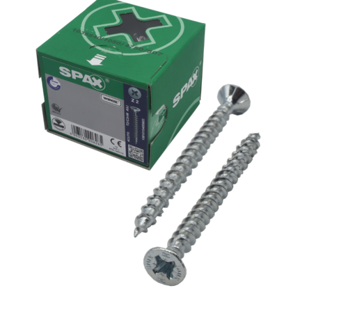 Spax Spax®  WIROX spaanplaatschroef platkop PZ2 4.5X25MM