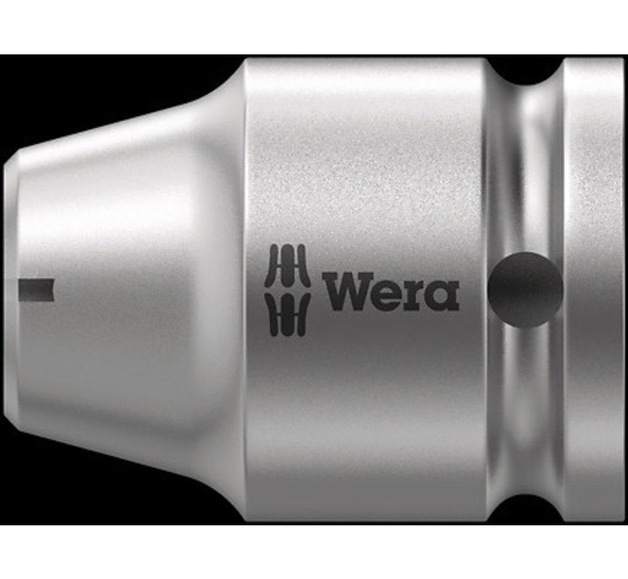 Wera adapter 1/2 en 1/4 x35 mm