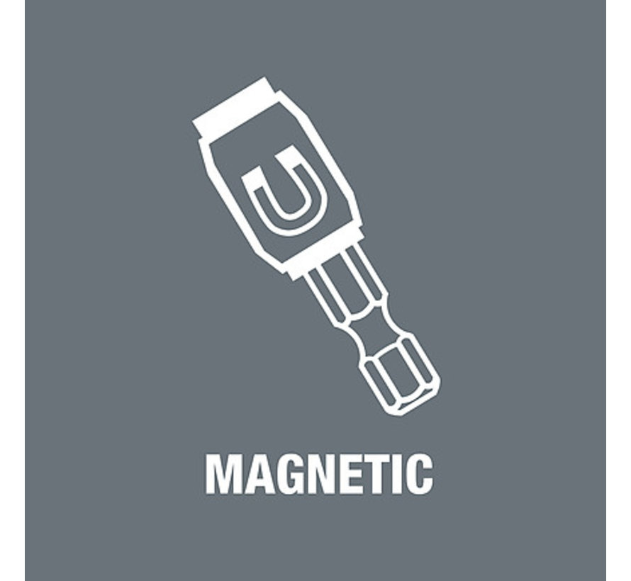 Wera Bithouder magnetisch met snelwisselfunctie 1/4 x 52mm