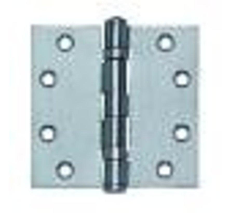 Kogellagerscharnier gegalv. 102x102x3.0mm rechthoekig - Copy