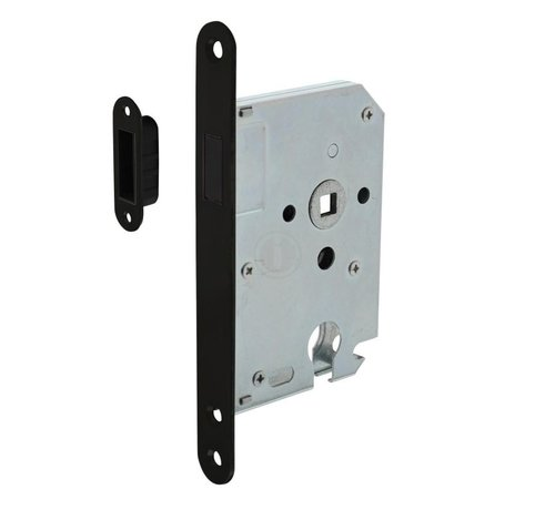 Intersteel Intersteel Dag- en nachtslot magneet 50mm ZWART U174x20 mm  PC55