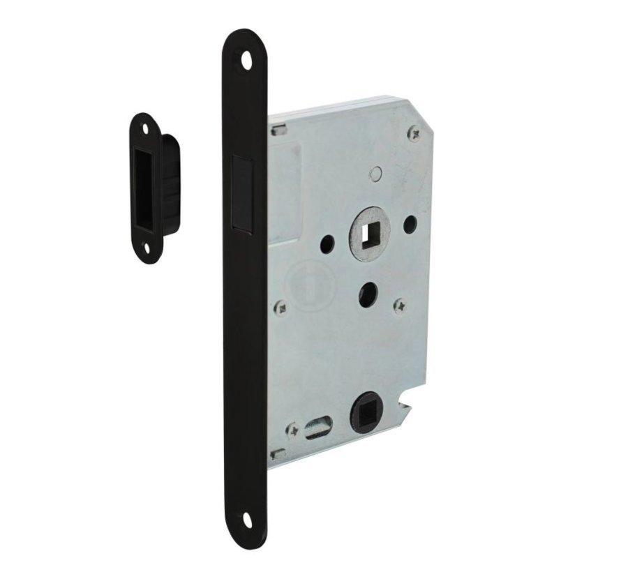 Intersteel Vrij- en bezetslot ZWART magneet 50mm / U174x20mm