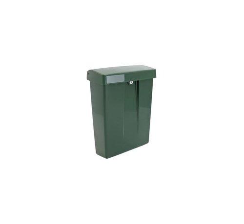 Intersteel Postkast Summus kuntstof + slot groen RAL6009