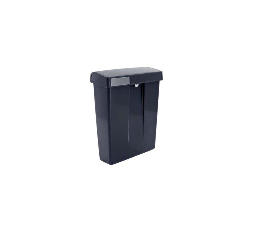 Postkast Summus kuntstof + slot Grijs RAL7016