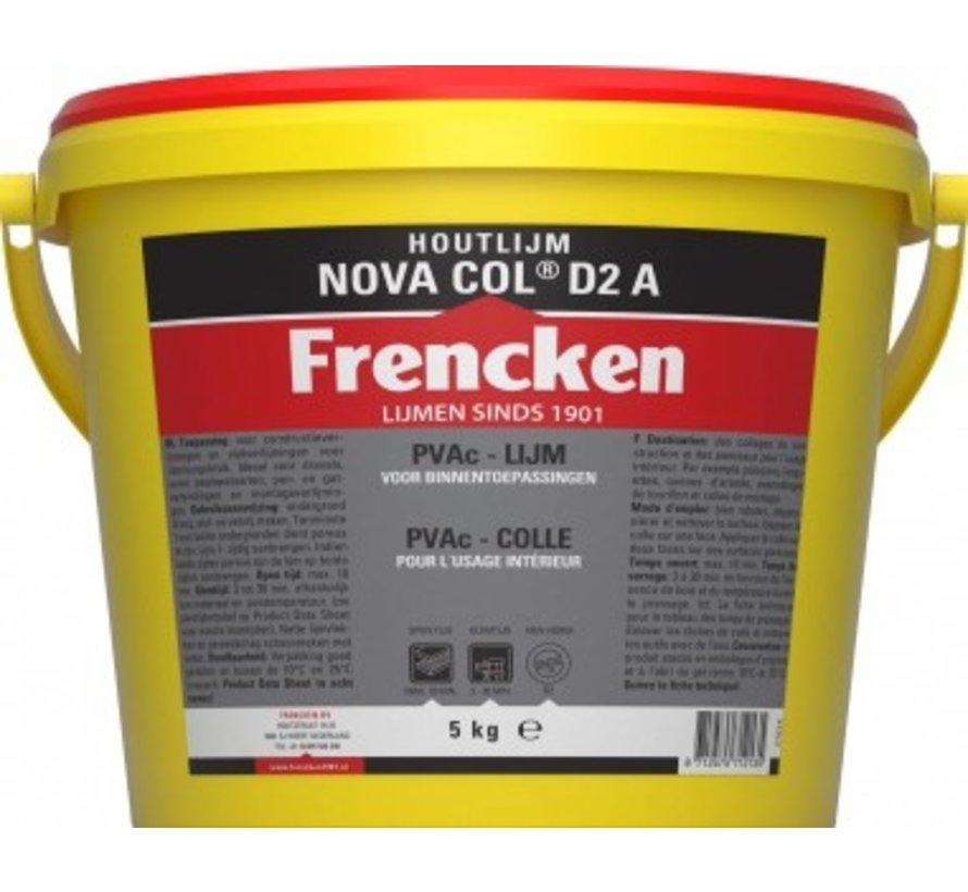 Houtlijm Frencken® houtlijm NOVA COL D2 A  5 KG