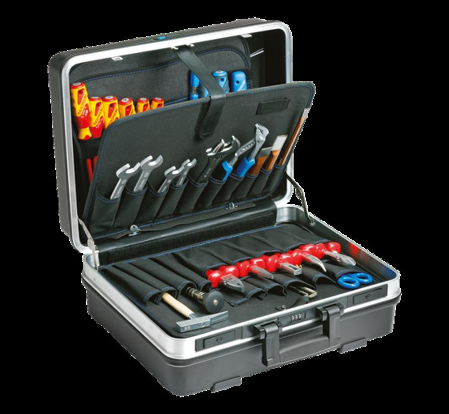 Gedore® gereedschapskoffer elektricien 90-delig