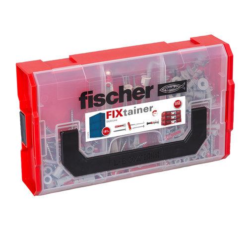 Fischer Fischer™ fixtainer duoline pluggen en schroeven 181-delig - Copy